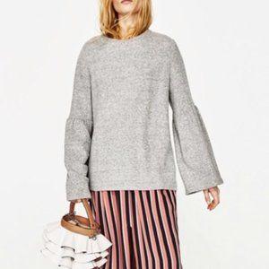 Zara Bell Sleeve Knit Sweater